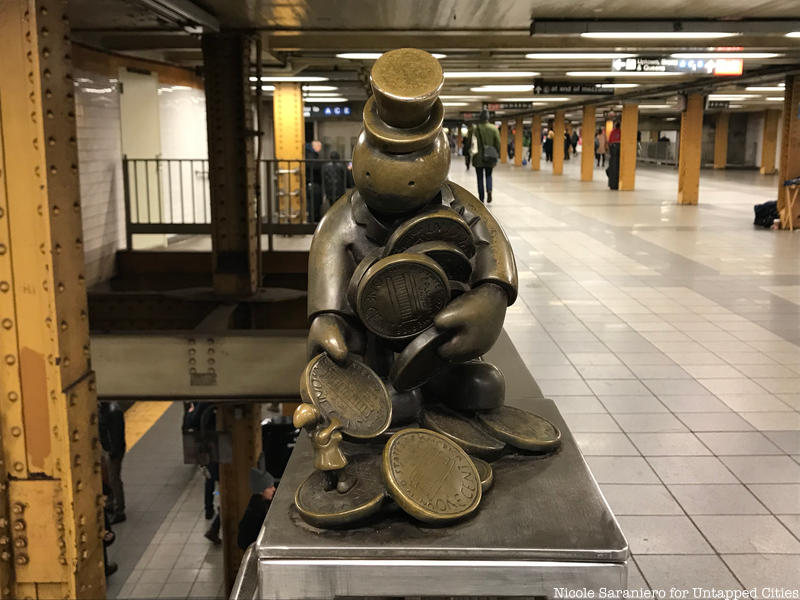 Visite en Anglais . Art in the Subway